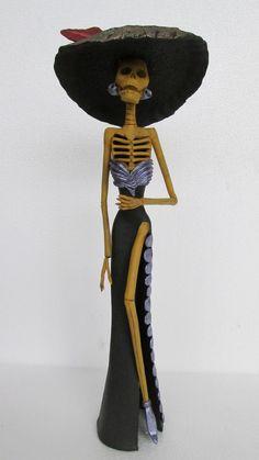 Beautiful CATRINA mexican folk art day by CatrinaSanMiguel, $35.00