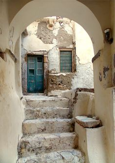 Pretty much always would rather be in Greece than wherever I am. Naxos Town, Naxos Island, Greece photo by Ηλιασ Naxos Greece, Italian Village, Greek House, Beautiful Villas, Winter House, Beautiful Places To Visit, Greece Travel, Greek Islands, Santorini