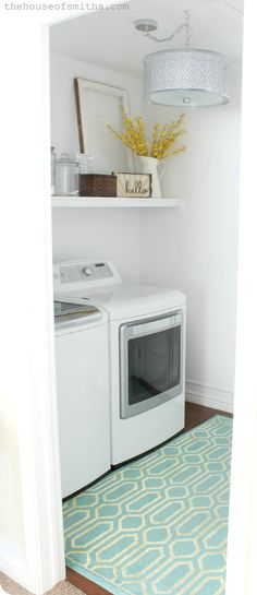 I want a laundry room that looks clean... The House of Smiths