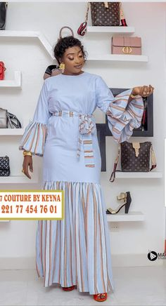 Latest African Fashion Dresses, African Dresses For Women, African Print Dresses, African Print Fashion, African Attire, African Blouses, Fashion Outfits, Style, African Dress