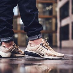 competitive price 299c7 caf4d NIKE Air Presto GPX Gold   Beige on We Heart It
