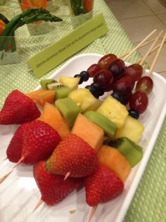 Fresh Fruit Kababs for Private Party.