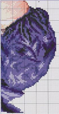 Gran Dama Classic cross stitch | Free Cross Point laboresdeesther