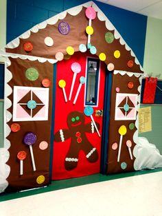 Gingerbread House classroom door!