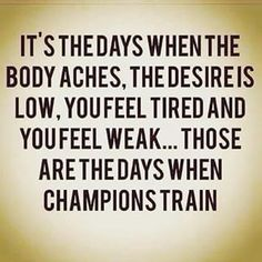 Tag a CHAMPION that impacts you and your fitness journey! #motivation #Instagram