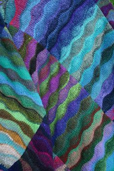 Ravelry: peargirl's Waves of Ocean, Mountains, and Stream