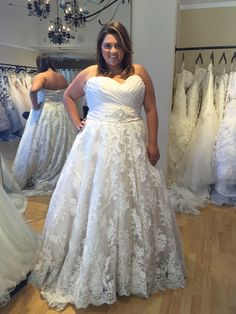 Plus Size Wedding Dress Watters Santina