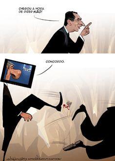 Cartoon: Em sintonia