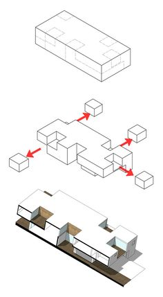 Subtracted House,Diagram
