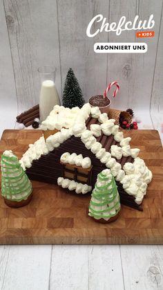 Winter Desserts, Köstliche Desserts, Christmas Desserts, Christmas Treats, Christmas Veggie Tray, Christmas Dinner Menu, Xmas Food, Chefclub Video, Dorm Food