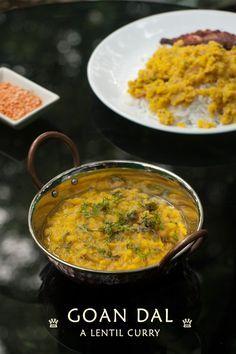 Goan Dal lentil curry www.masalaherb.com #stepbystep #recipe