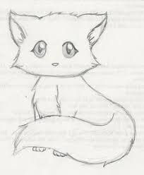 ab3fce4aa Fluffy Cat Drawing at GetDrawings.com | Free for personal use ... Easy