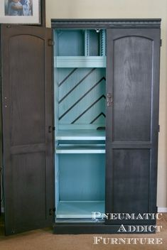 Pneumatic Addict Furniture: Computer Armoire With a Twist