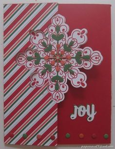 Image result for stampin up snowflake thinlits
