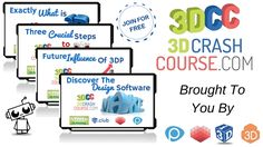 Crash Course: Free, Entertaining Videos Take Printing Novices from A to Z Space Toys, Video Maker, Very Excited, 3 D, 3d Printing, Student, Entertaining, Technology, Education