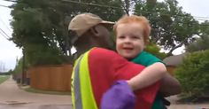 Deacon Ross is an adorable 2-Year-Old boy whose unlikely best friend is their neighborhood's garbage man, OD. But Deacon is going to be a big brother soon, so his family's moving into a bigger house off OD's route. And when you see this sweet goodbye, your heart will melt to pieces!