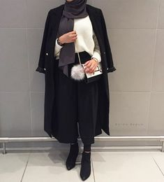 future outfit for sure Muslim Fashion, Modest Fashion, Fashion Outfits, Modest Wear, Modest Dresses, Modest Outfits Muslim, Hijab Outfit, Modele Hijab, Hijab Stile