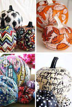 the art of painting pumpkins (via Bloglovin.com )