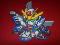 Gundam X perler bead design by ~HDorsettcase on deviantART