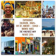 Experience Salvador, Bahia, Rio de Janeiro, Iguacu and Buenos Aires � August 2014!
