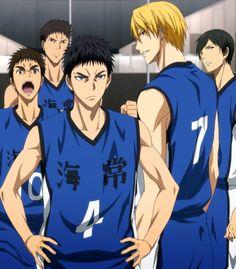 Kuroko no Basuke Kaijou - Basketball Kise Ryouta, Kuroko Tetsuya, Kuroko No Basket Characters, Akakuro, Generation Of Miracles, Anime Family, Hot Anime Guys, Anime Boys, Manga Anime