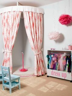 Awesome Kids Playrooms - Princess Pinky Girl