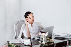 Career Checklist: Chriselle Lim's 6 Tips for a Stylish Workday Deep Questions To Ask, Business Portrait, How To Pose, Work From Home Moms, Pilates Reformer, Powerful Women, Who What Wear, Girl Photography, Lifestyle Photography