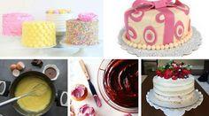 Rellenos para tortas y coberturas ¡38 geniales propuestas! Cute Cakes, Vanilla Cake, Fondant, Ale, Butter, Birthday Cake, Baking, Desserts, Food