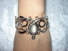 This is beautiful!  It's a SilverMoon bracelet from Medieval Bridal Fashion.