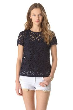 another beautiful lace top you can purchase at shopbop.com for $138