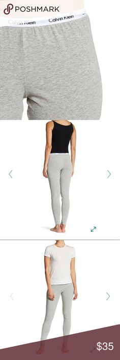 Calvin Klein carousel leggings Comfortable and cute! Pair with grey sports bra or triangle bra also available in my closet for extra discounts! Calvin Klein Pants Leggings