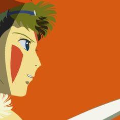 San from Princess Mononoke もののけ姫 サン #kousaku