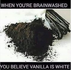 Nothing that is natural is white