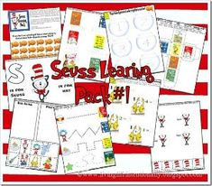 Dr. Seuss printables! {tons and tons} by wteresa