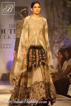 Anamika Khanna Delhi Couture Week 2013 | Lehengas & Sarees | Bigindianwedding