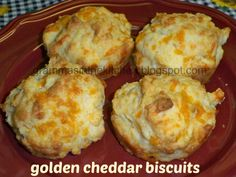 Golden Cheddar Biscuits
