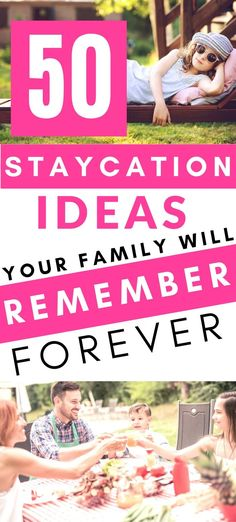 50 Staycation Ideas {Social Distancing Options Included!} {Family & Budget Friendly!} - A Hundred Affections