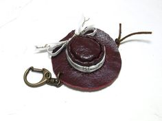 Leather craft  Miniature accessories  Opus 8  Hat