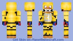 FNaF - Bonnie (better in 3D) Minecraft Skin