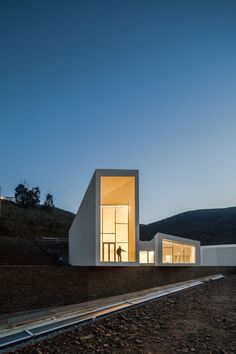 Rowing High Performance Centre in Pocinho by Alvaro Andrade