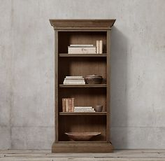 French Panel Single Shelving