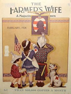 The Farmers Wife Magazine, February 1928. Marion Matchitt