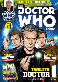 Doctor Who Comic UK - (c) Titan Comics / BBC Worldwide