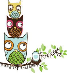 O is for Owlabet.   via Etsy.