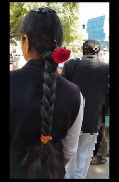 Braids For Long Hair, Braid Hair, Indian Long Hair Braid, Thick Braid, Beautiful Braids, Hair Shows, Beautiful Girl Indian, Ponytail, Braided Hairstyles