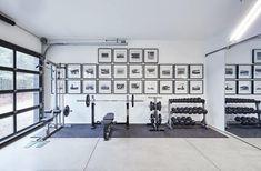 Dream Home Gym, Diy Home Gym, Gym Room At Home, Home Gym Decor, Best Home Gym Setup, Home Office, Home Gym Basement, Workout Room Home, Workout Rooms