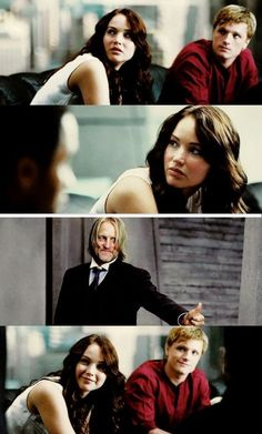 Hunger Games / Haymitch / Peeta / Katniss