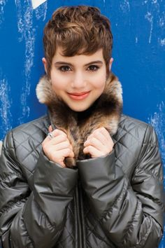 grey is a great alternative to black for bright winter Sami Gayle
