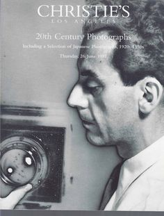 Christie's Los Angeles 20th Century Photographs Auction Catalog June 1997