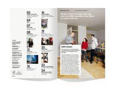 BUURTEN - magazine by Leon Dijkstra COOEE, via Behance